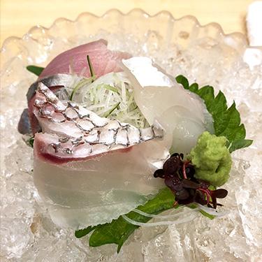 鯛のお造り・鯛刺身